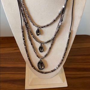 Multi layer Uno de 50 necklace